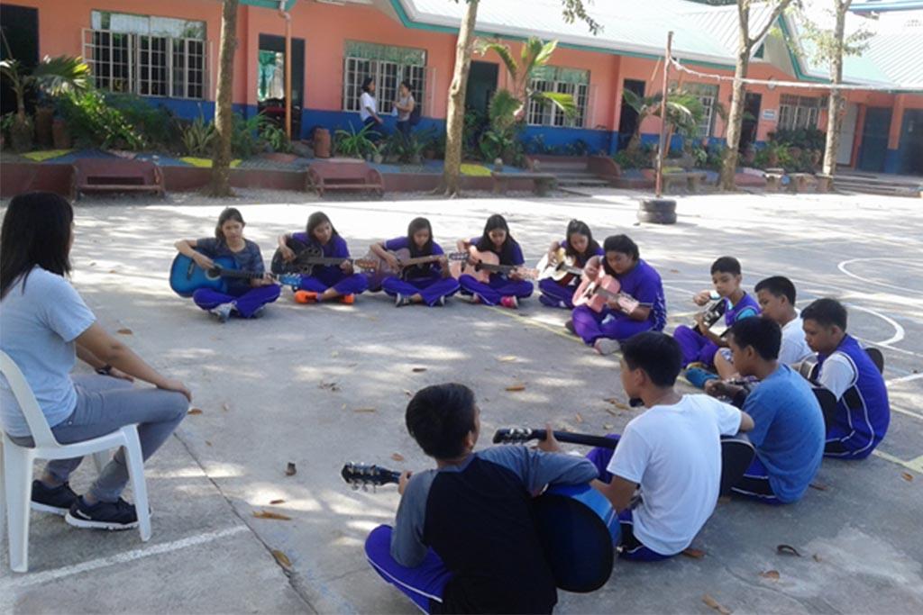 Guitar Class-Remnant International School-Balungao Campus