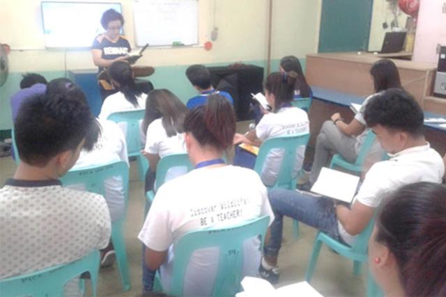 Teacher's Evangelism School Devotion and Bible Study-Dr. Hyon Suk K. Jong-Remnant International School-Balungao Campus